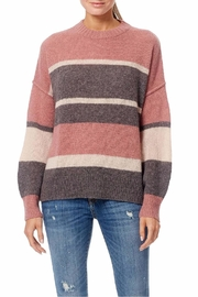 360 Cashmere Abbagail Stripe Sweater - Product Mini Image
