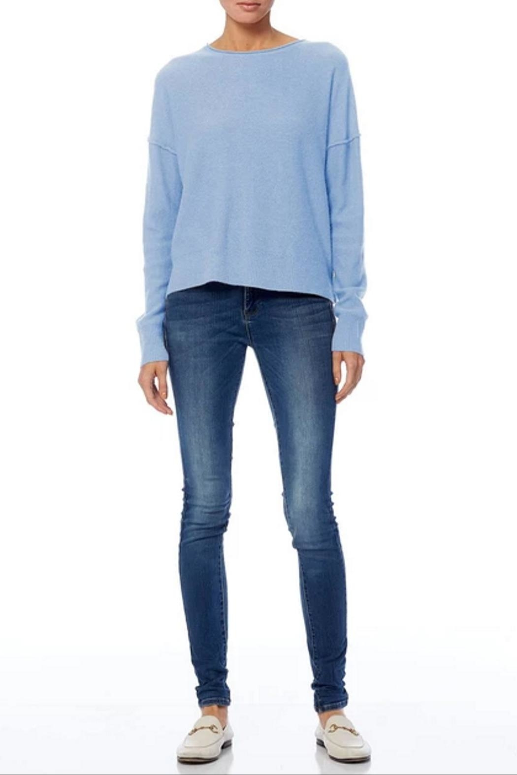 360 Cashmere Adelyn Sweater - Back Cropped Image