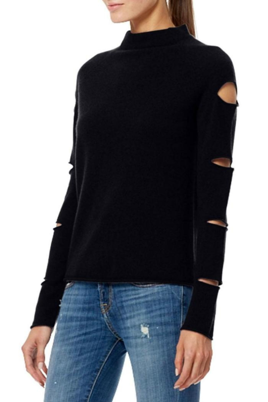 360 Cashmere Amanda Cashmere Sweater - Side Cropped Image