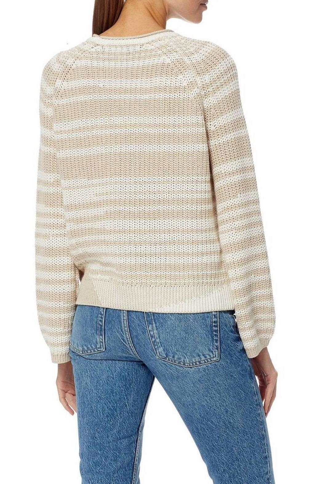 360 Cashmere Amethyst Sweater - Side Cropped Image