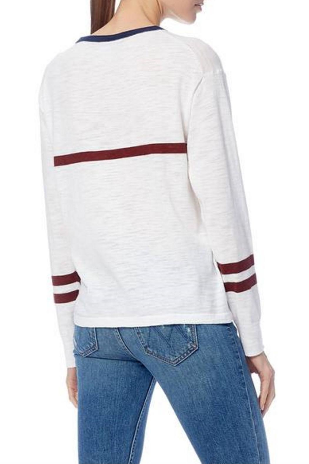 360 Cashmere Andrea Long Sleeve - Side Cropped Image