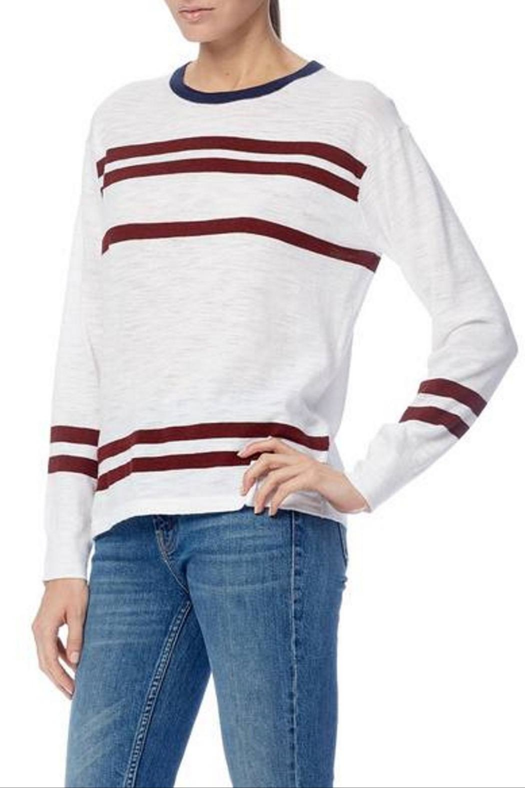 360 Cashmere Andrea Long Sleeve - Front Full Image