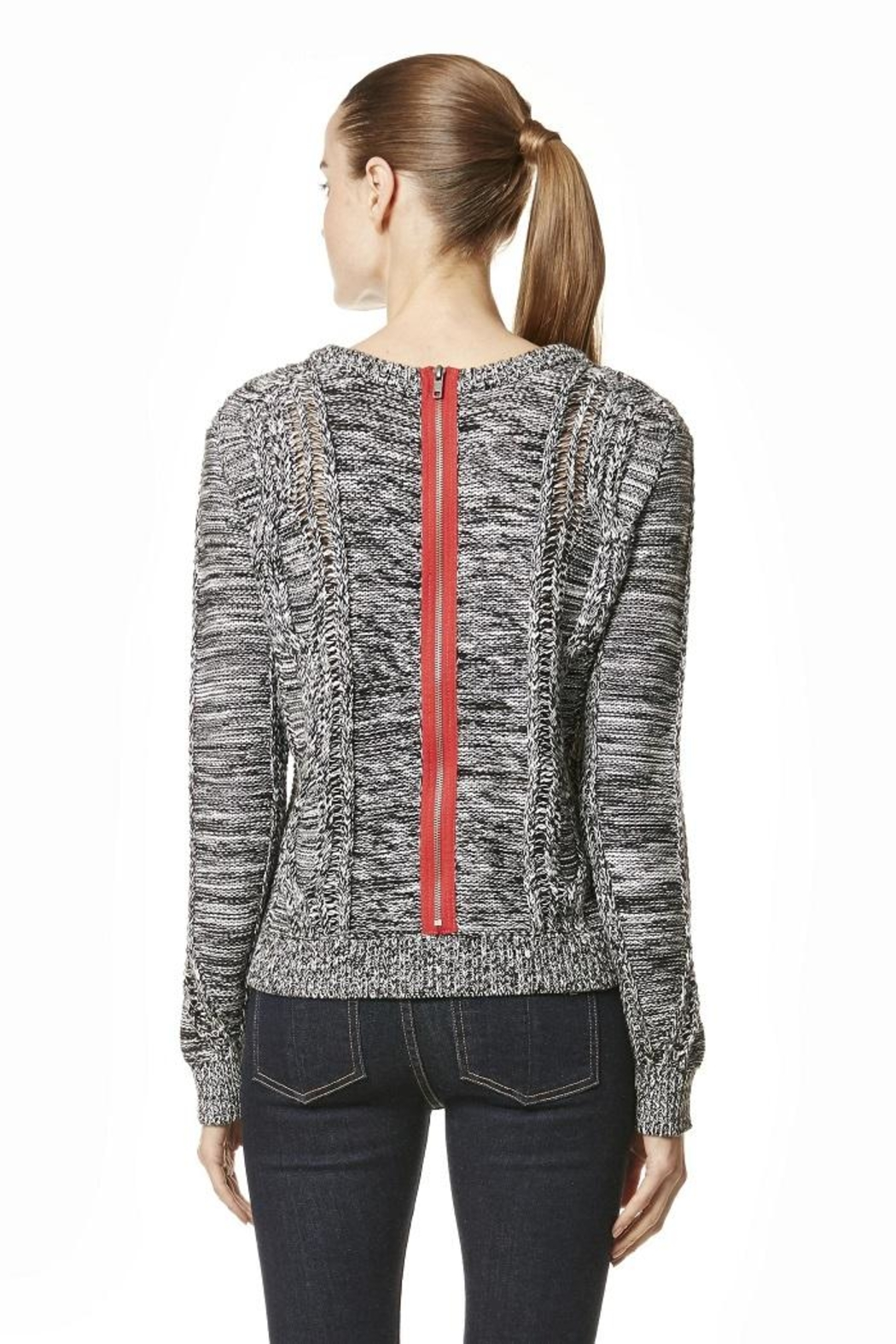 360 Cashmere Andreja Pullover Sweater - Front Full Image