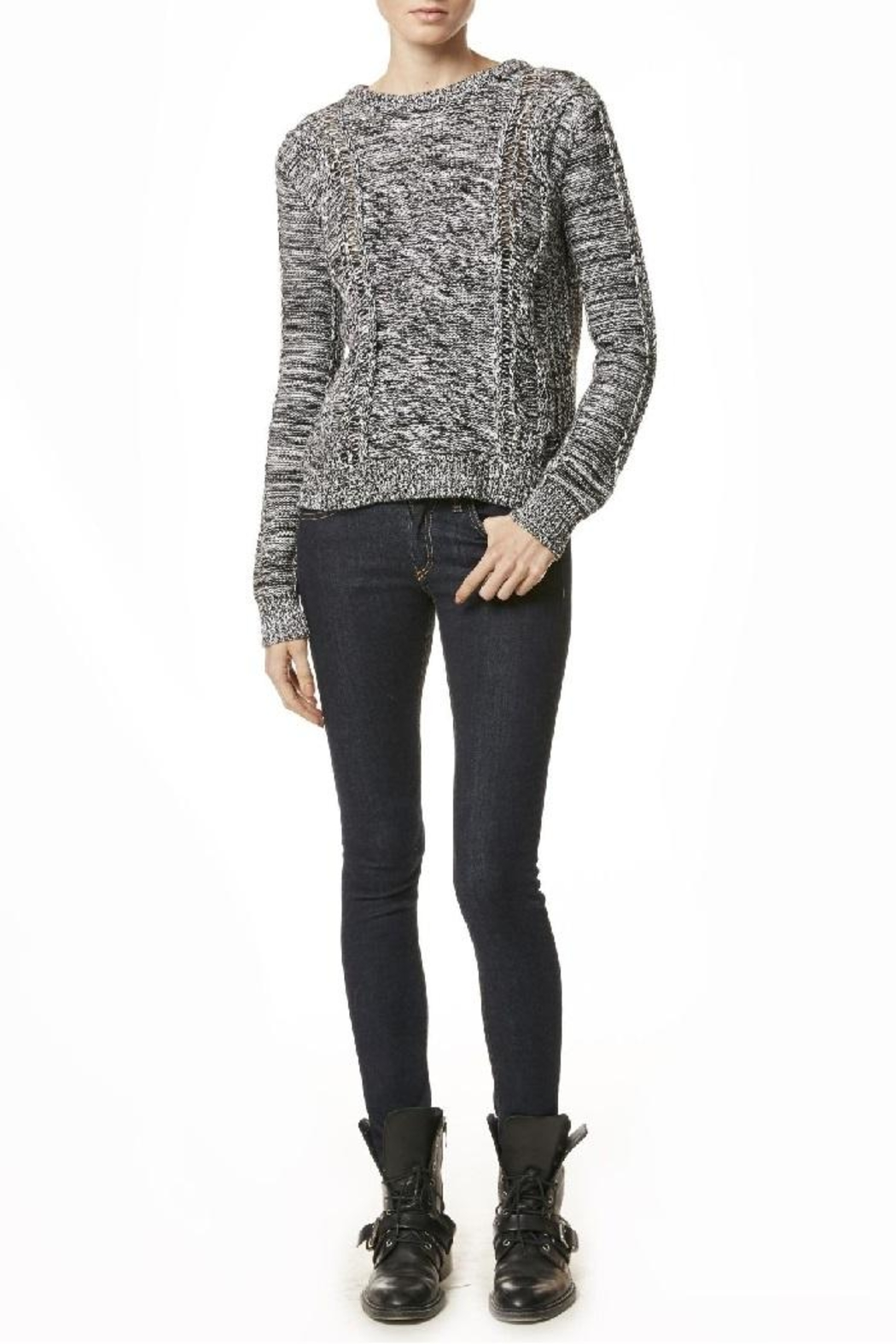 360 Cashmere Andreja Pullover Sweater - Side Cropped Image