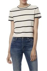 360 Cashmere Annabelle Stripe Cashmere Top - Front cropped