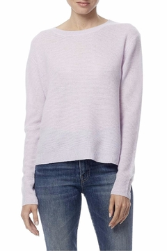 360 Cashmere Back Slit Sweater - Product List Image