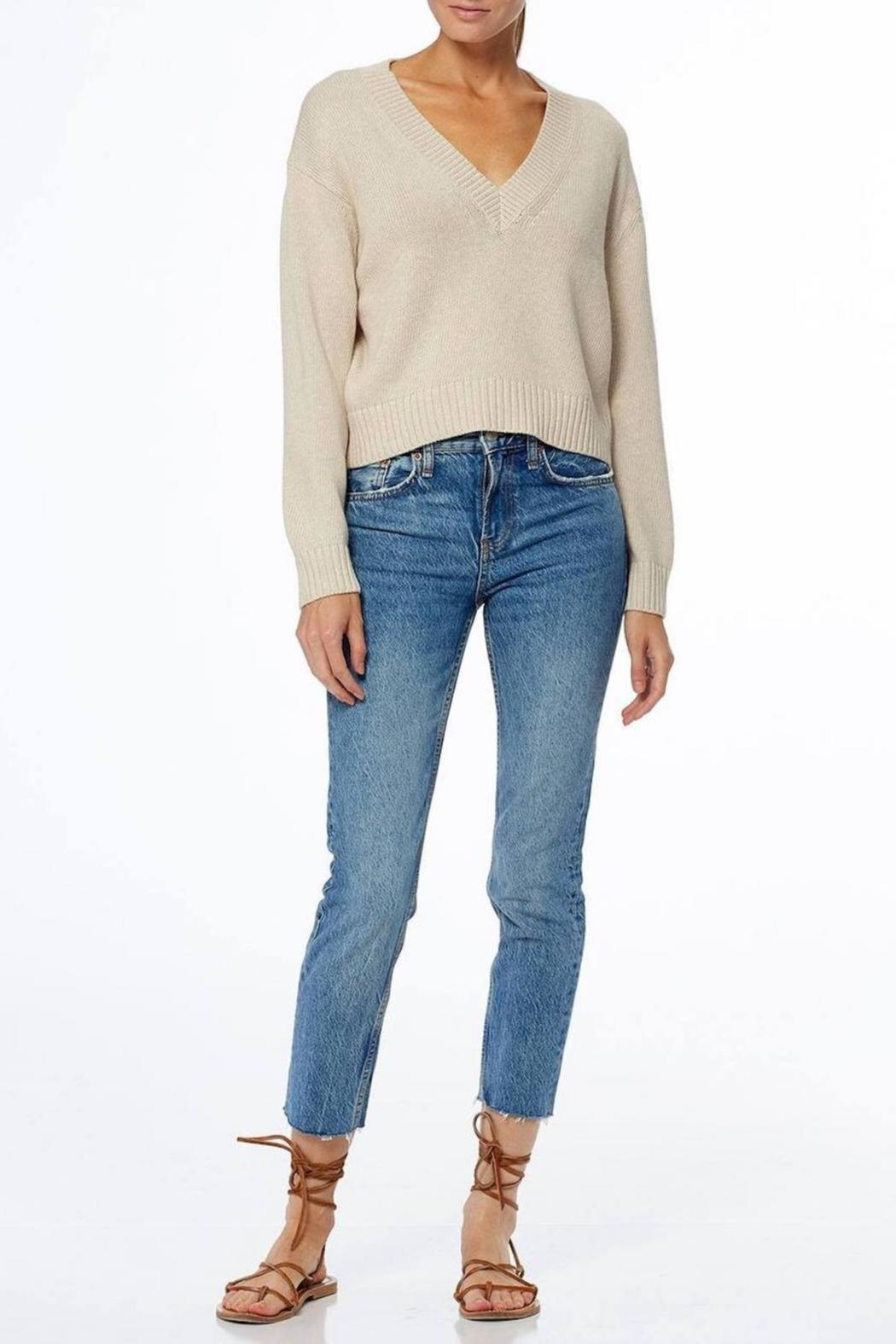 360 Cashmere Bailey Sweater - Back Cropped Image
