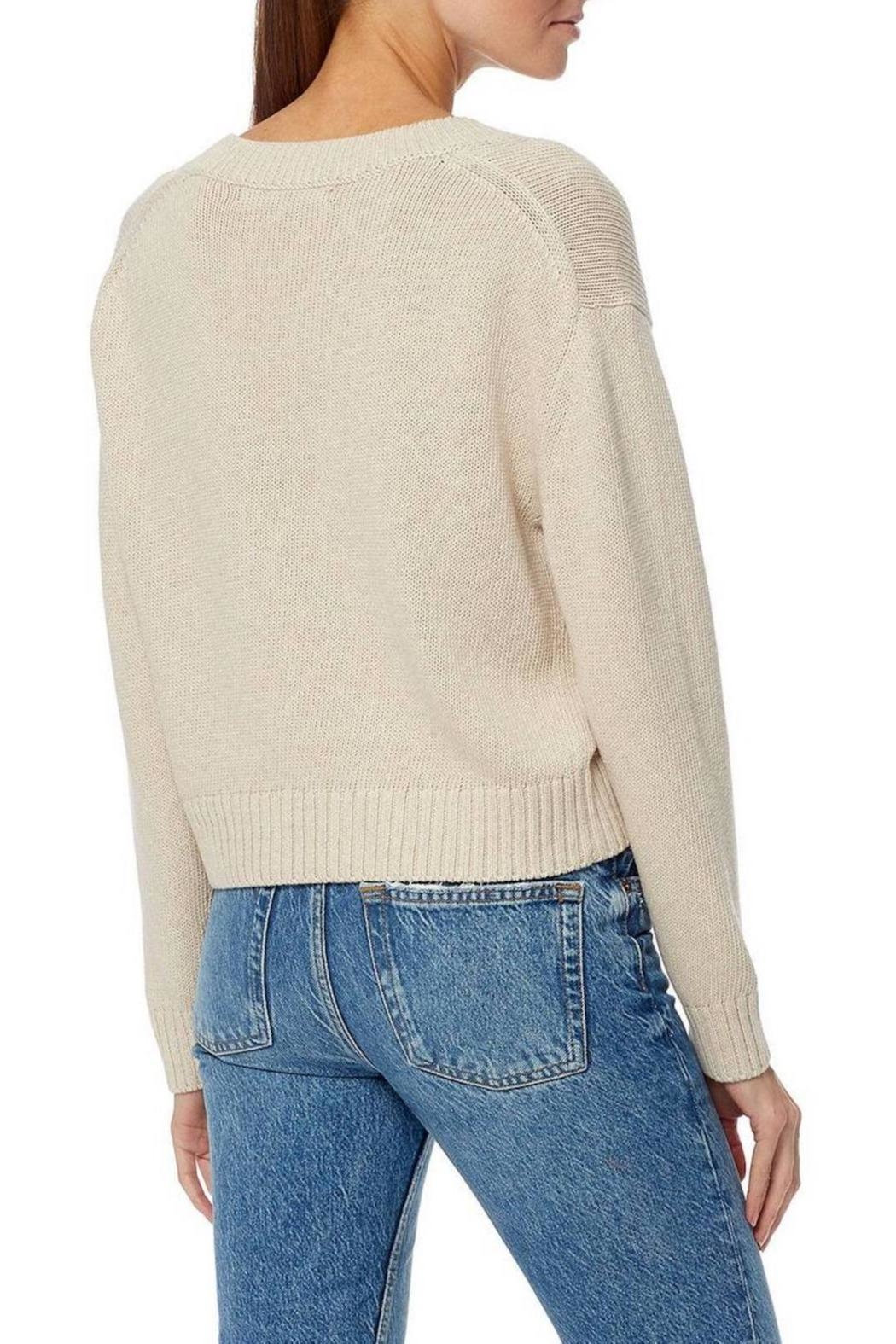 360 Cashmere Bailey Sweater - Side Cropped Image