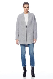 360 Cashmere Bridget Cardigan Heather Grey - Product Mini Image