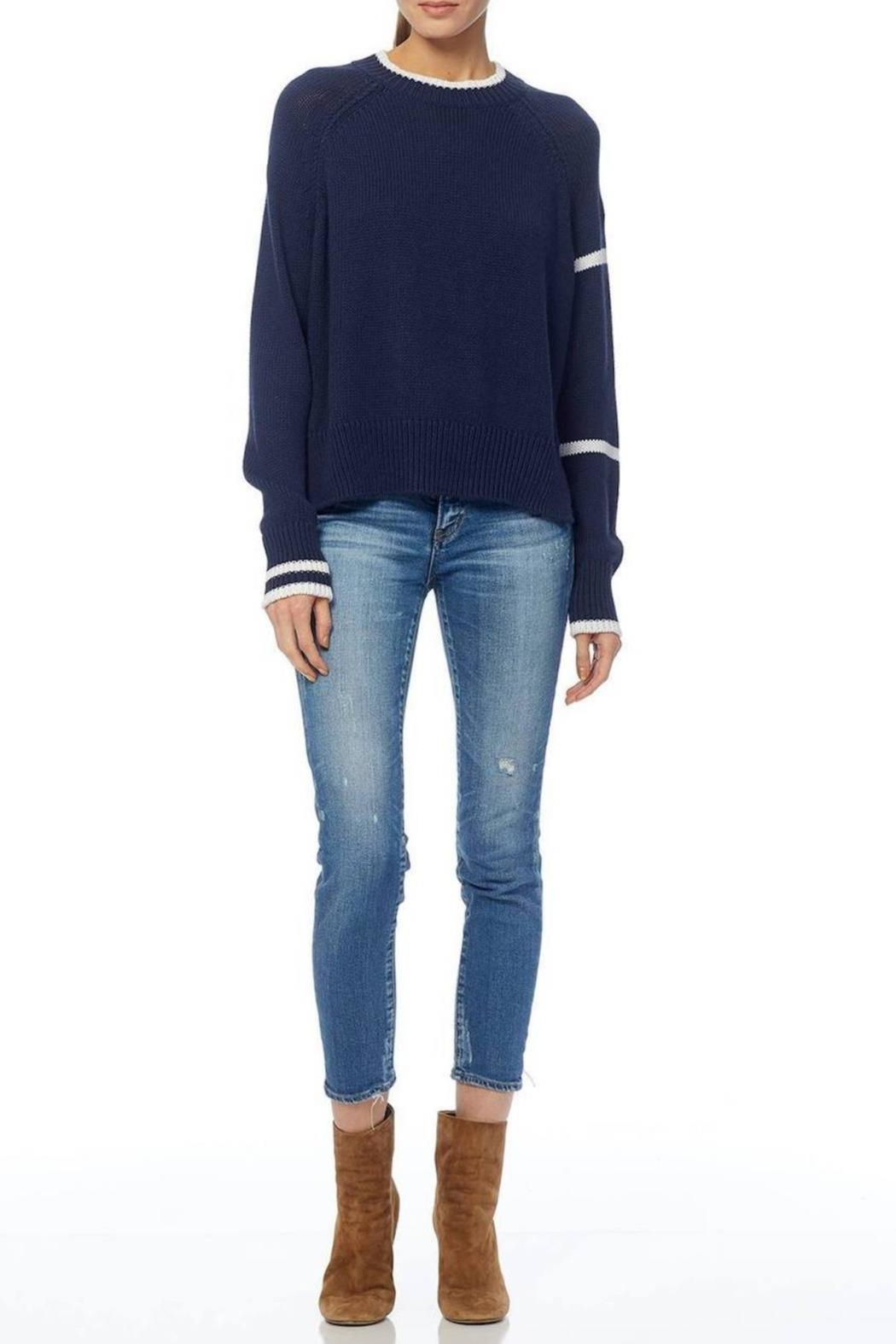 360 Cashmere Brynn Sweater - Back Cropped Image
