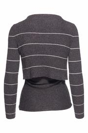 360 Cashmere Cinder Isa Top - Front full body