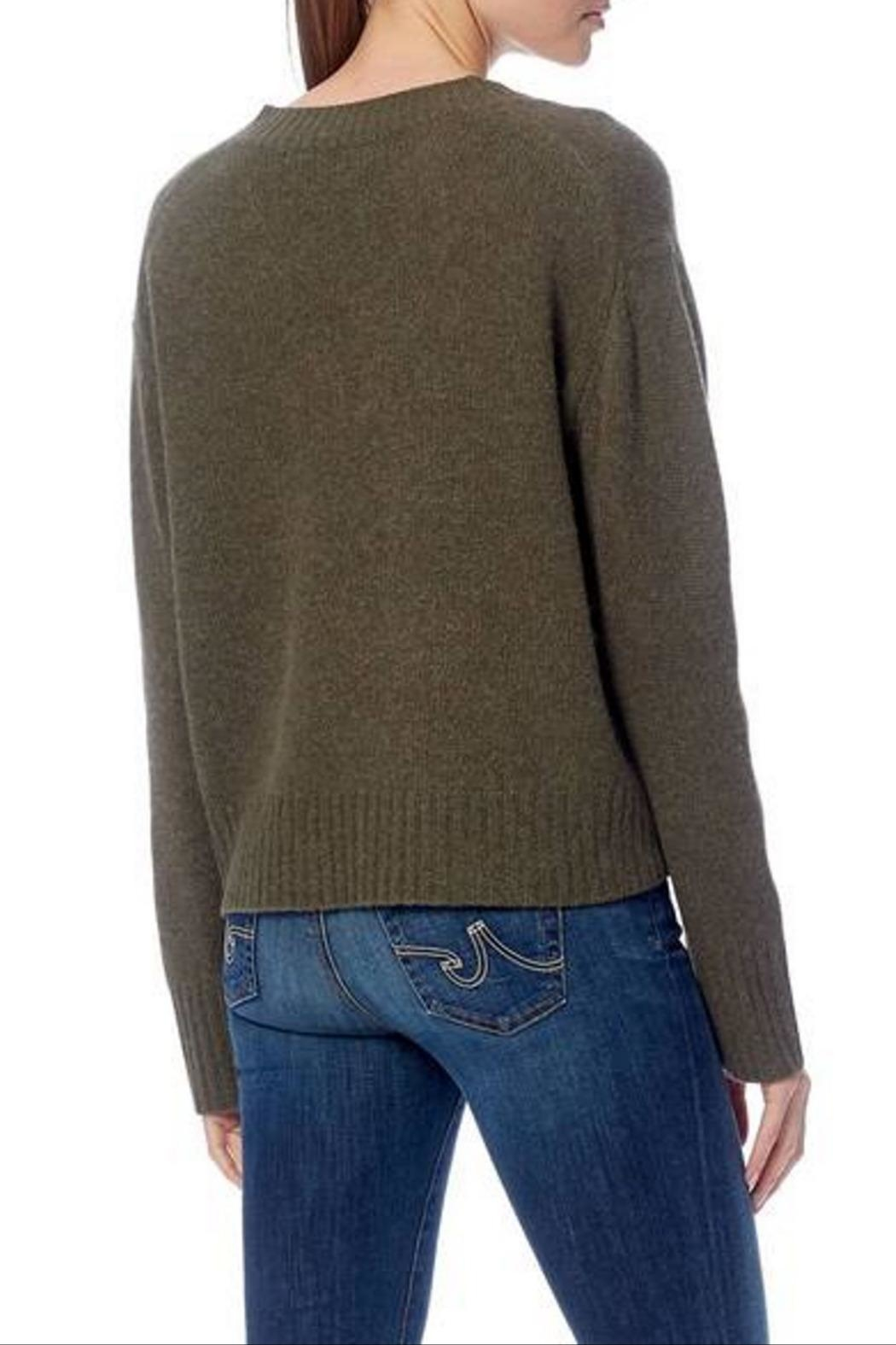 360 Cashmere Daisy Sweater - Side Cropped Image