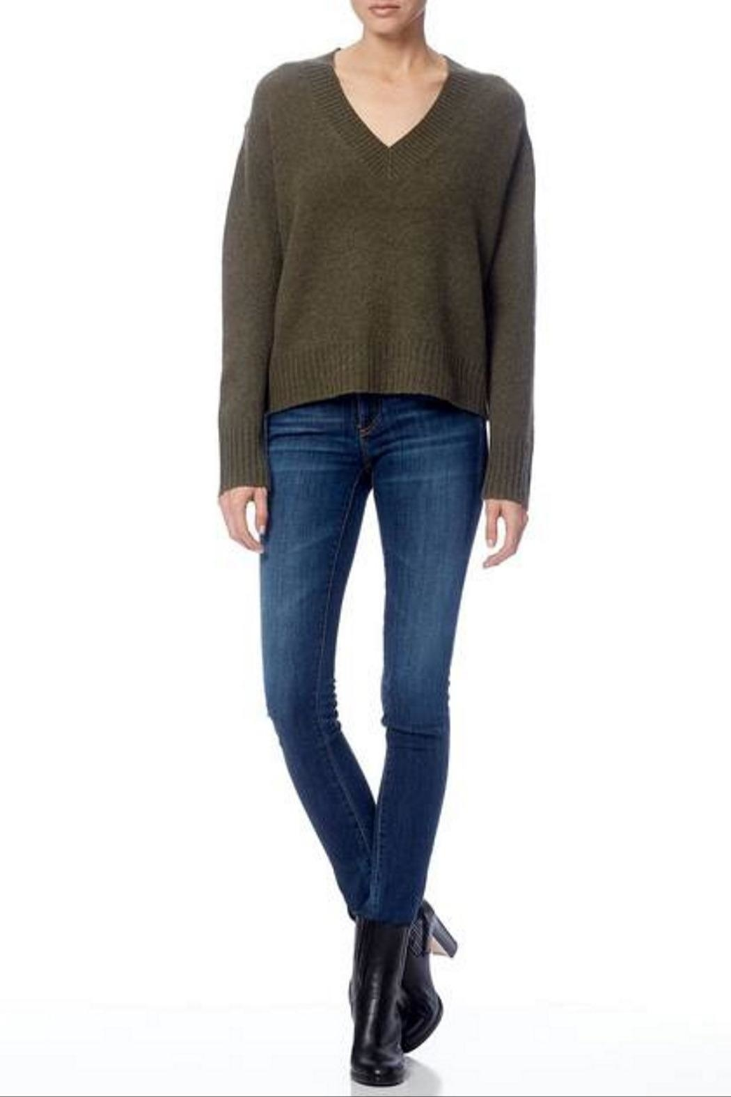 360 Cashmere Daisy Sweater - Back Cropped Image