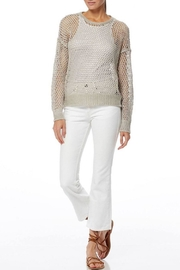 360 Cashmere Dove Pullover - Back cropped