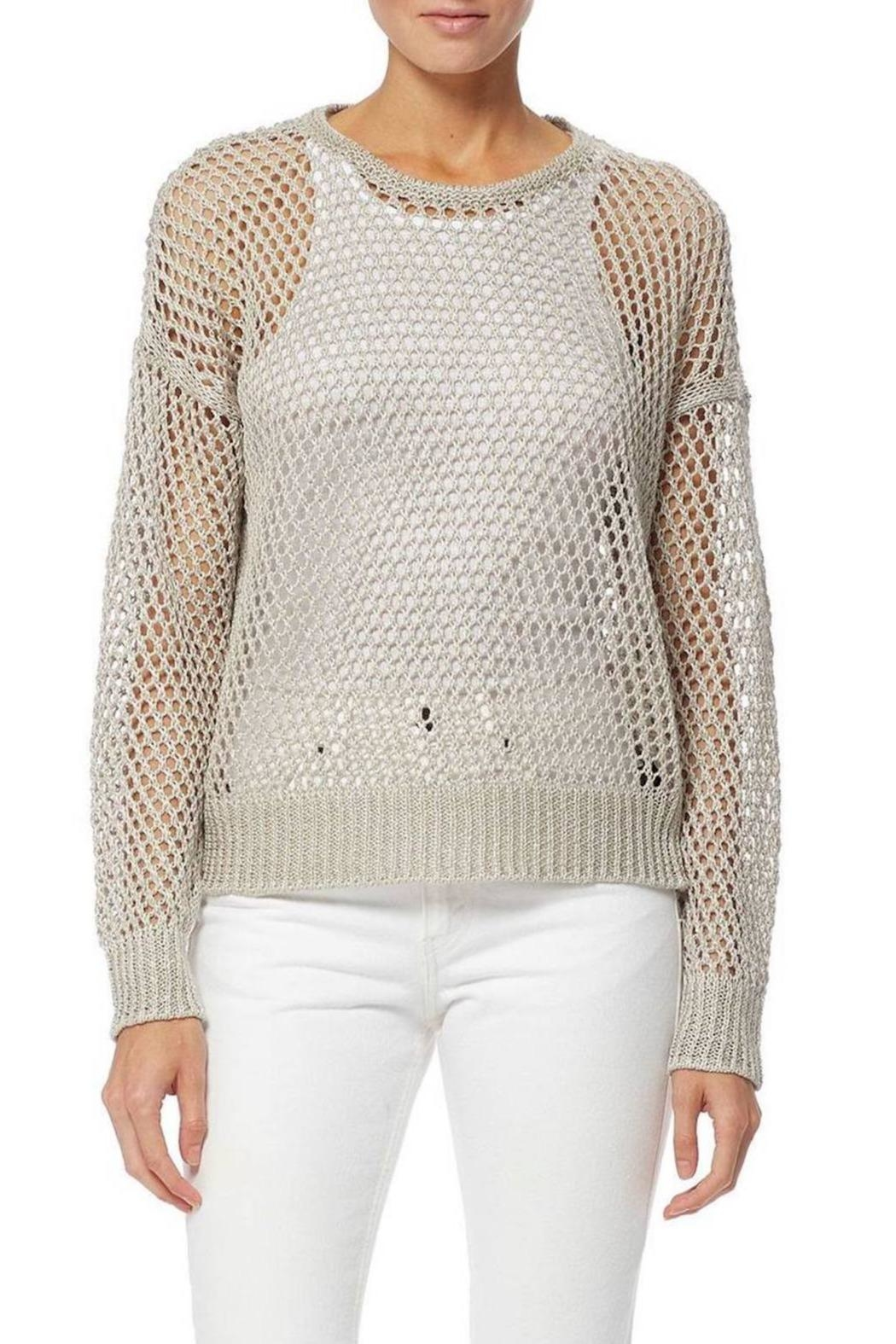 360 Cashmere Dove Pullover - Front Cropped Image