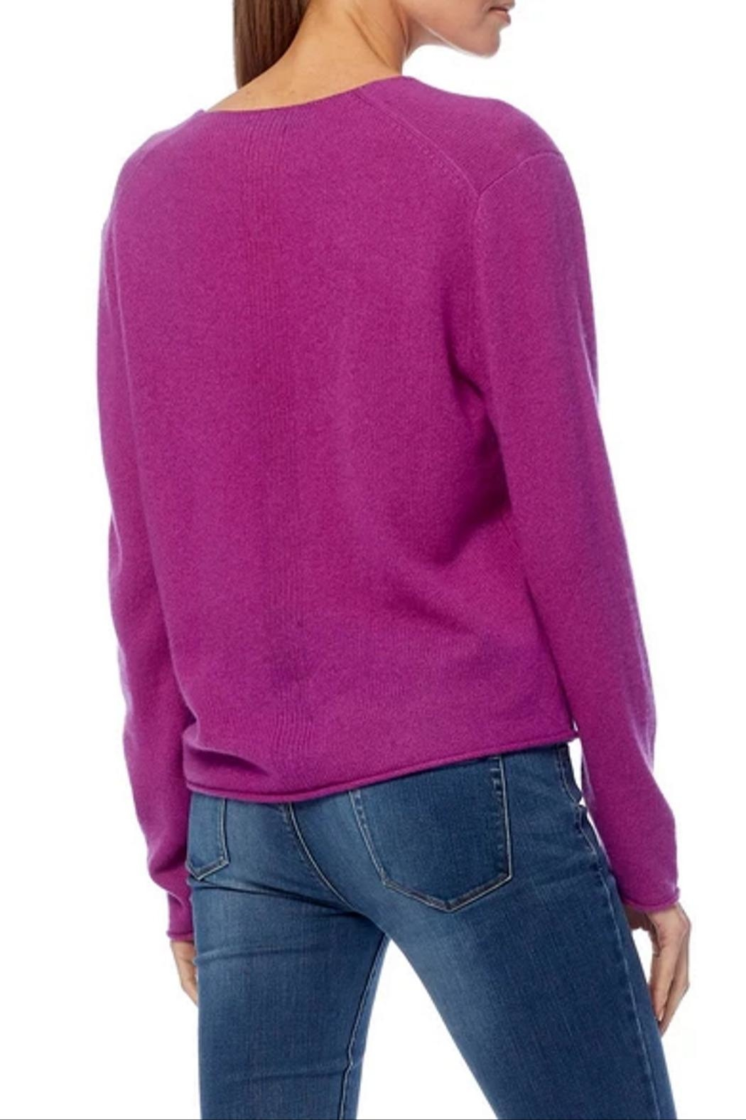 360 Cashmere Gwen Sweater - Side Cropped Image