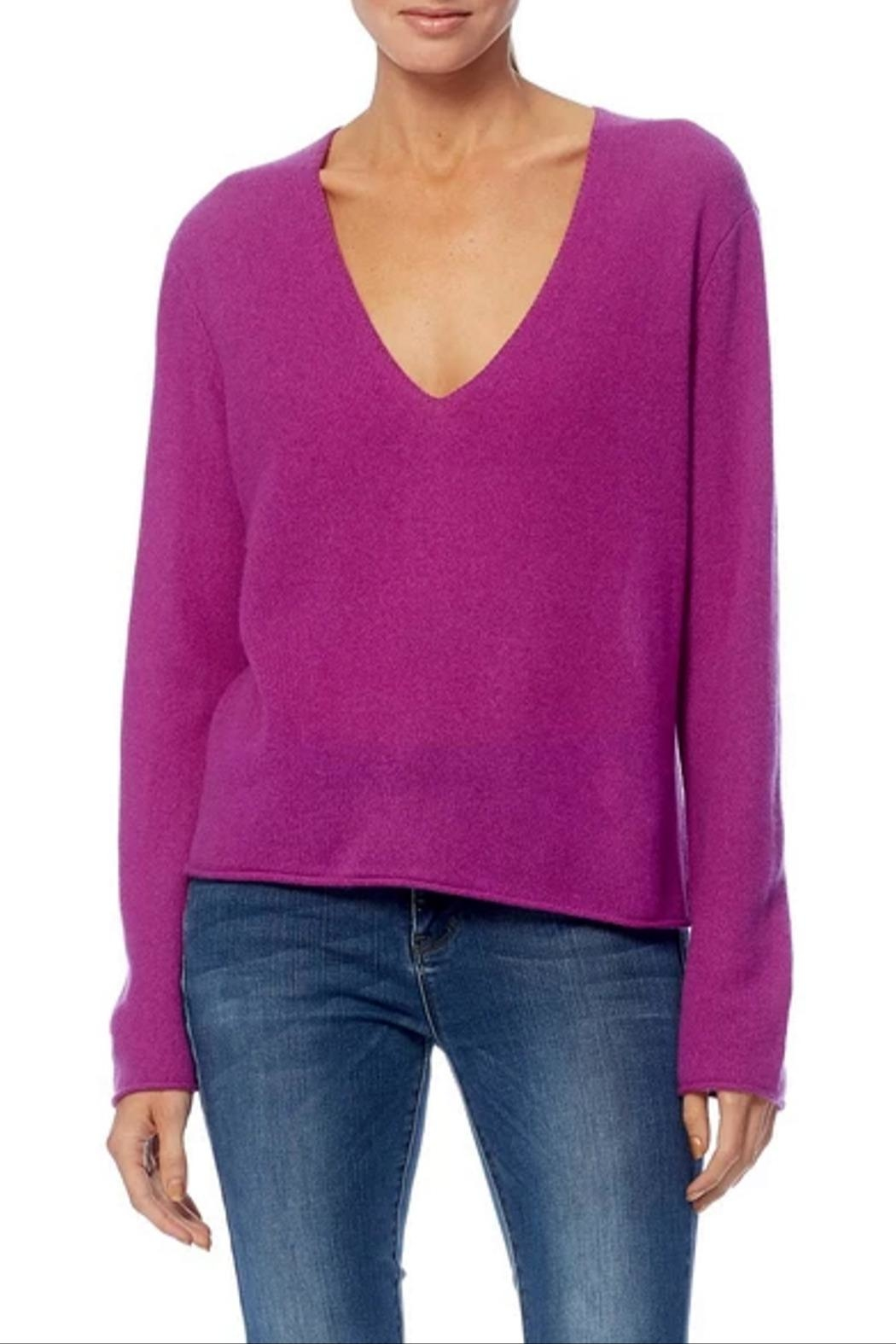 360 Cashmere Gwen Sweater - Front Full Image