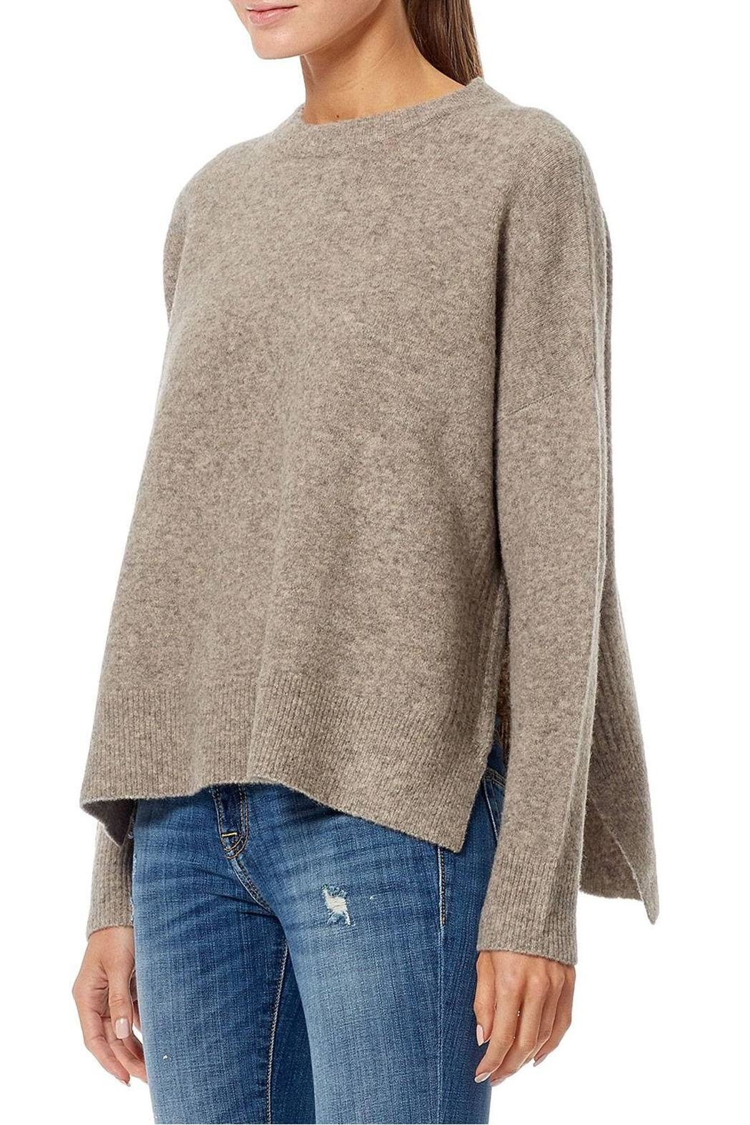 360 Cashmere Hanna Crew Neck Top - Front Full Image