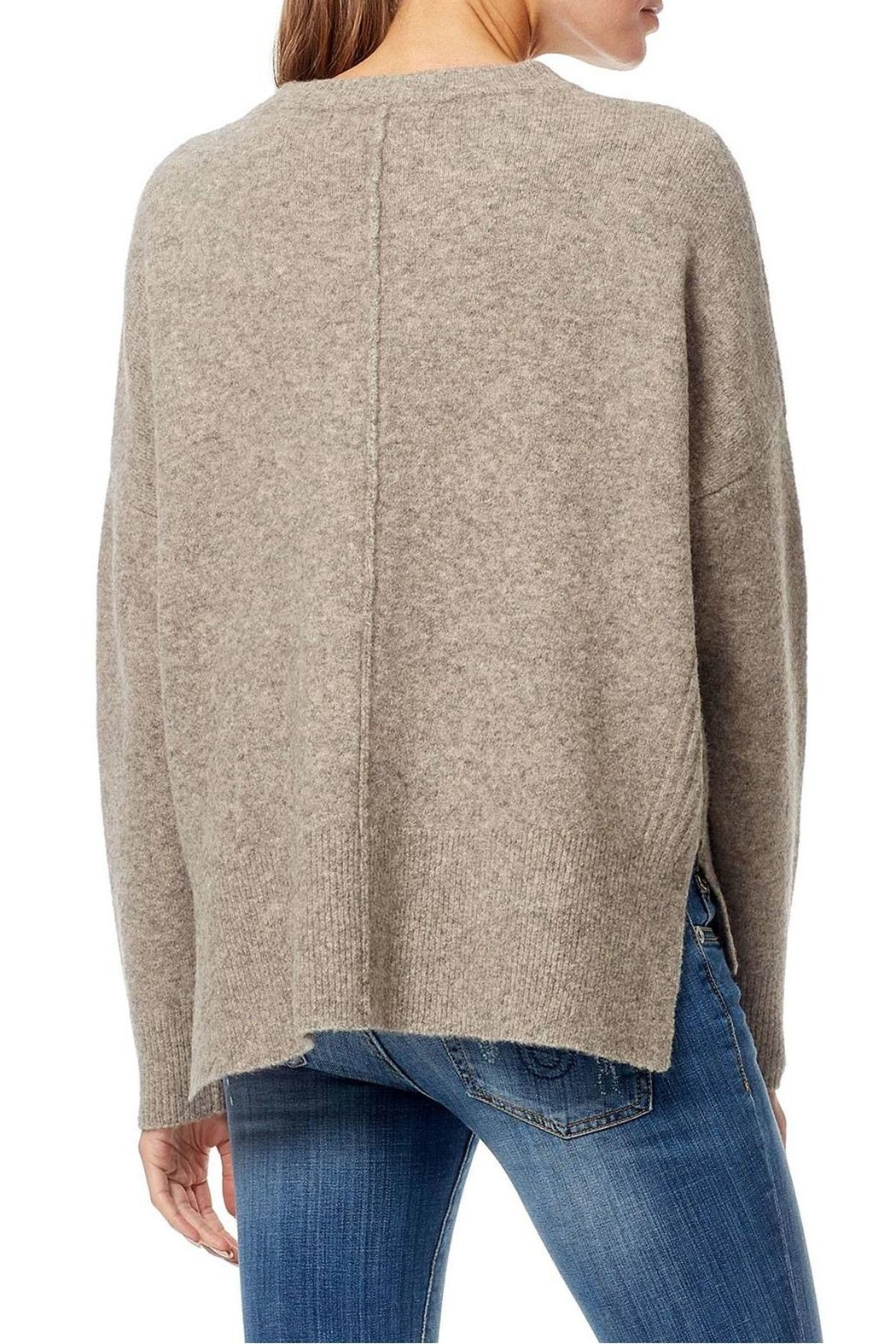 360 Cashmere Hanna Crew Neck Top - Side Cropped Image