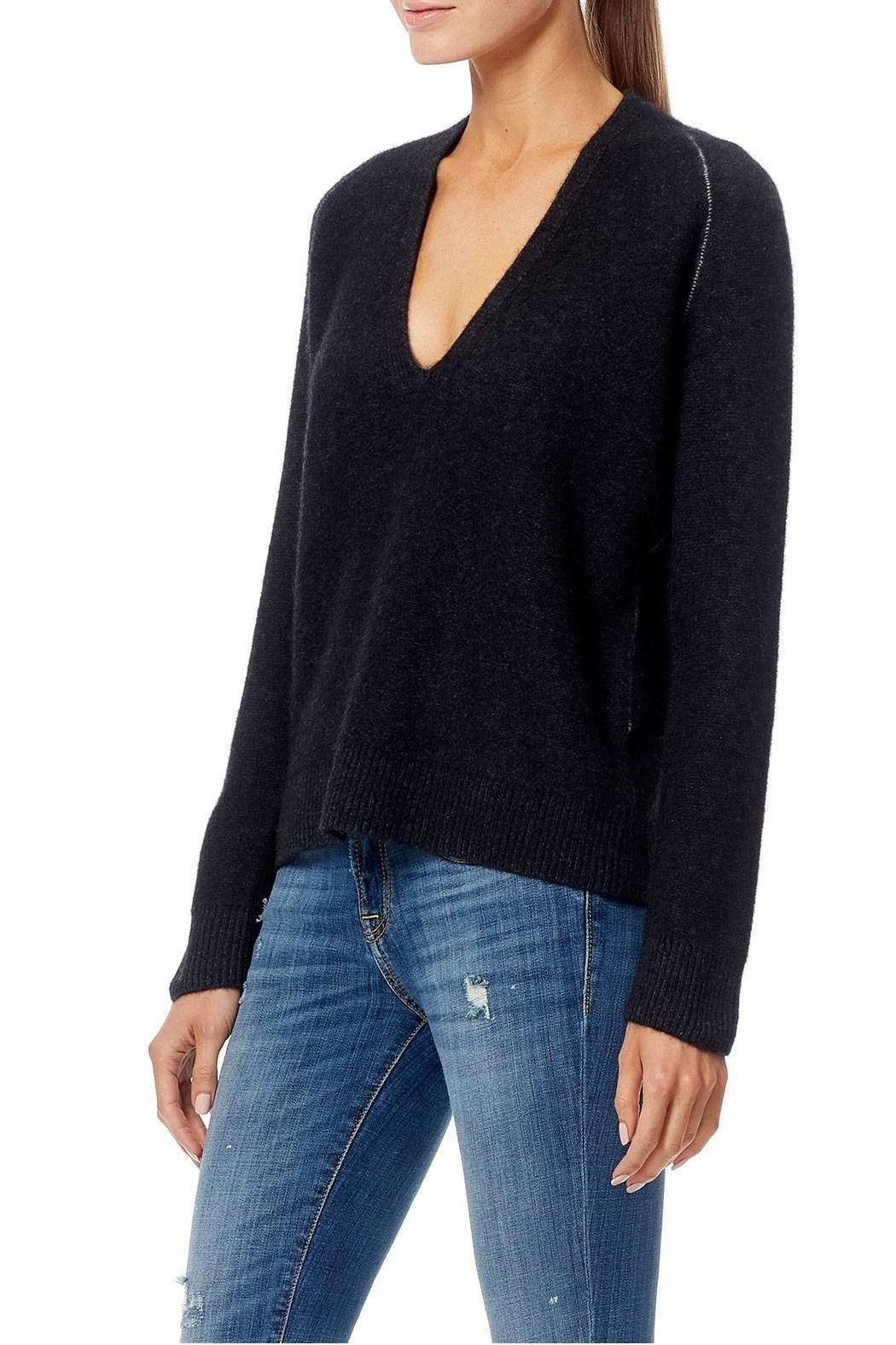 360 Cashmere Karleigh Sweater - Front Full Image