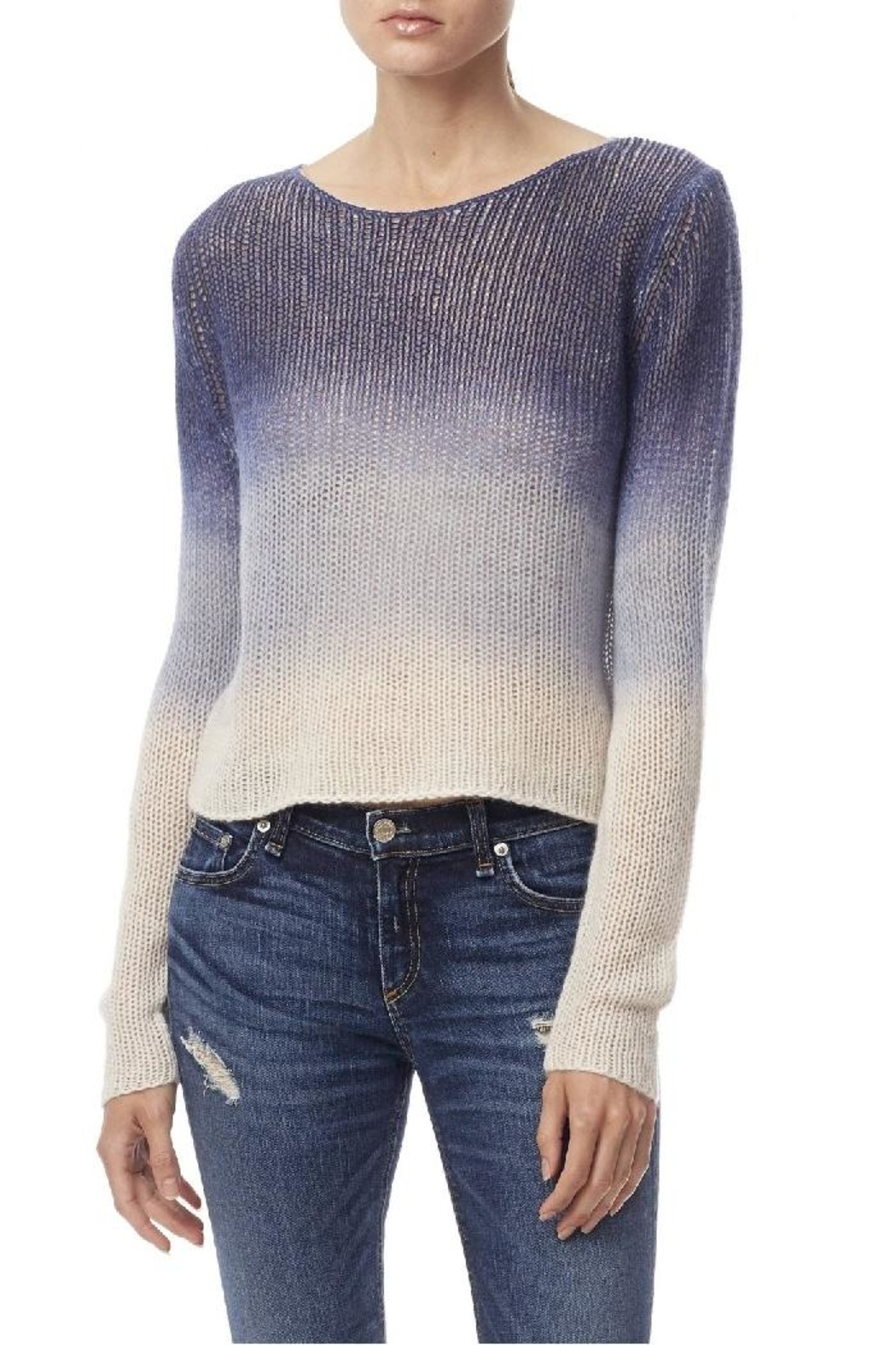 360 Cashmere Katarina Pullover Sweater - Front Cropped Image