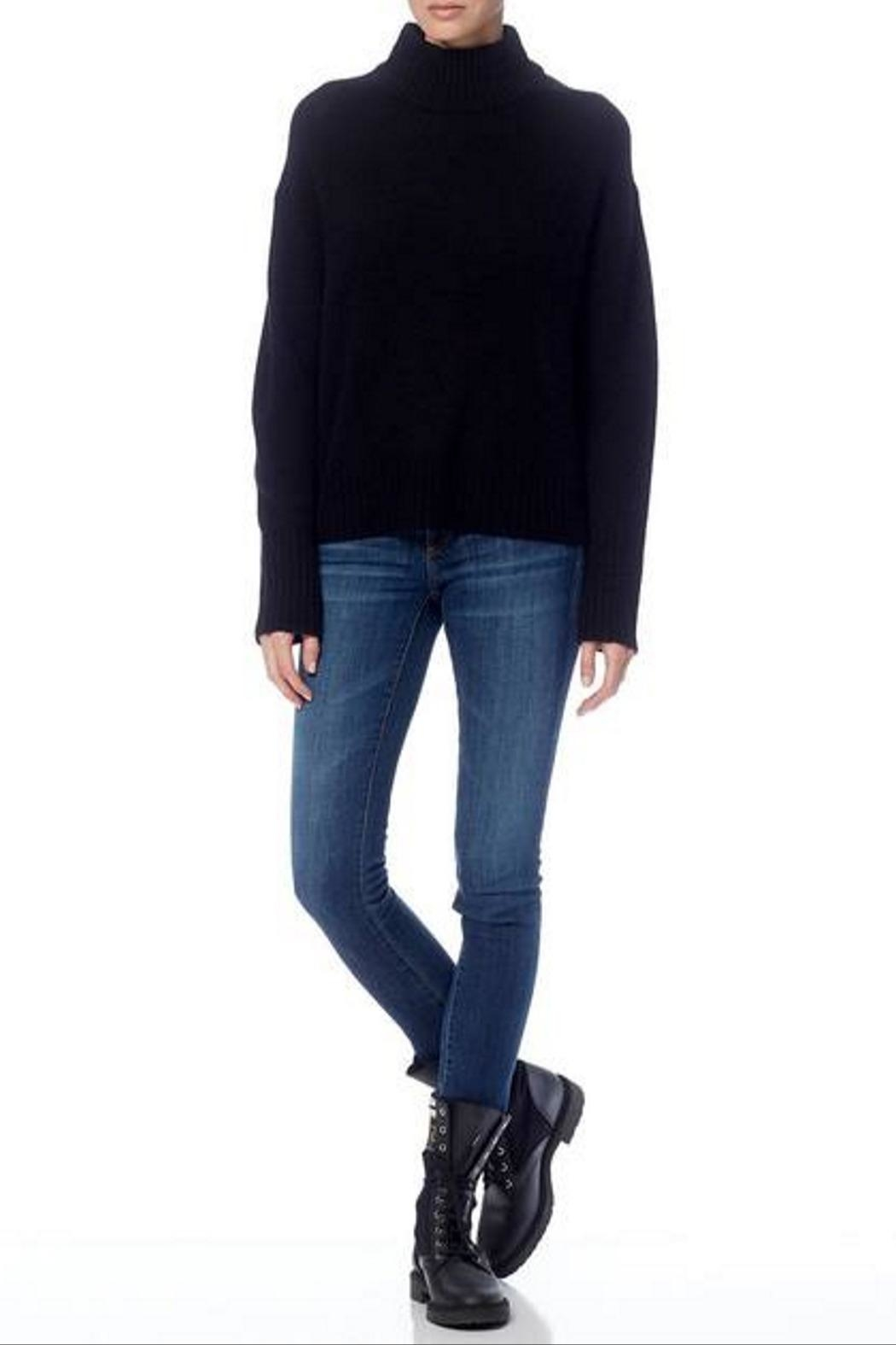 360 Cashmere Lyla Sweater - Back Cropped Image