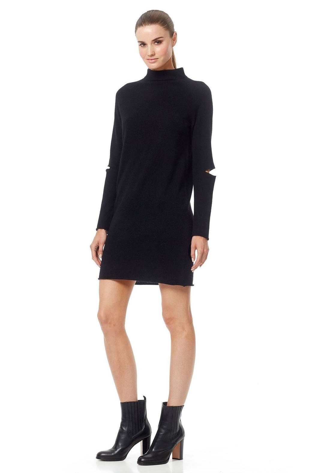 360 Cashmere Lynx Cashmere Sweater - Side Cropped Image