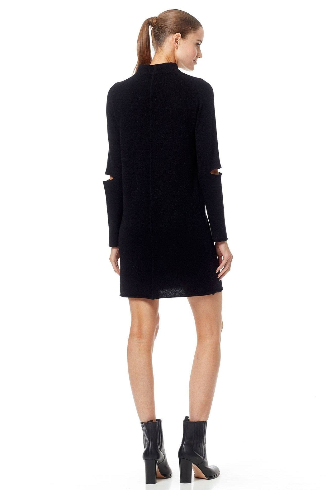 360 Cashmere Lynx Cashmere Sweater - Back Cropped Image