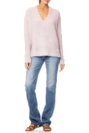 360 Cashmere Mai Vneck Sweater - Back cropped