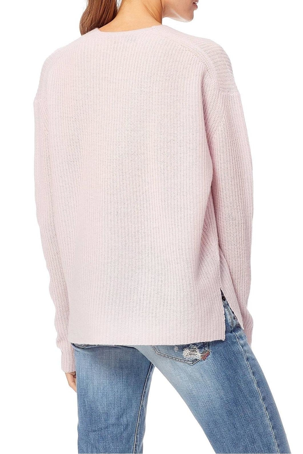360 Cashmere Mai Vneck Sweater - Side Cropped Image