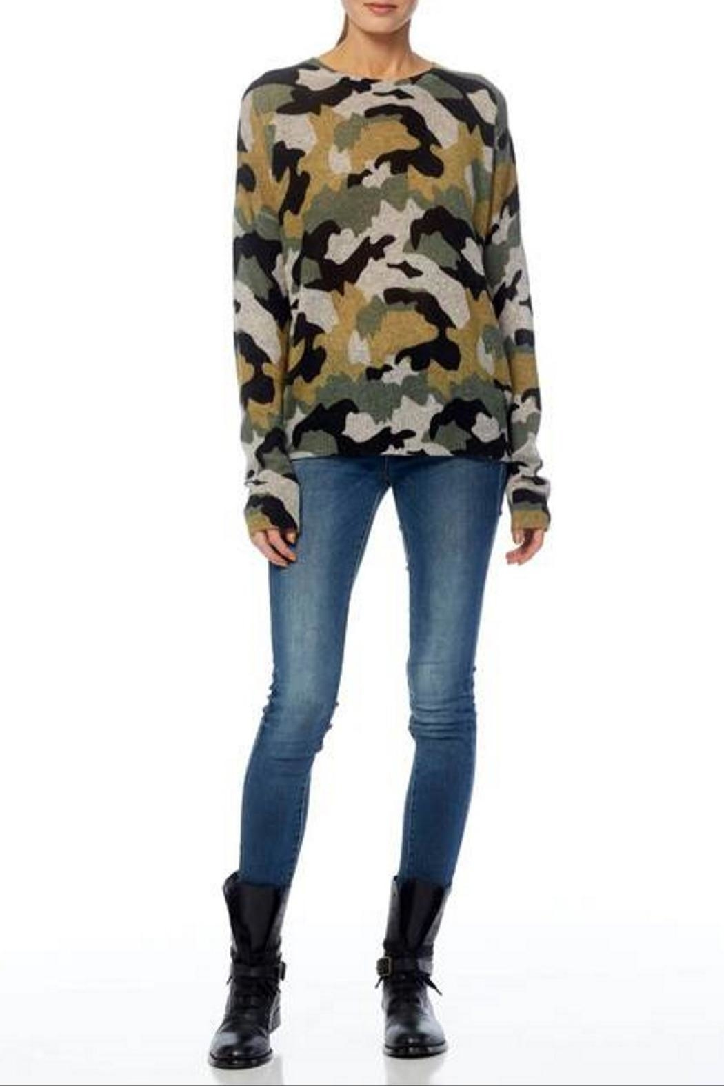 360 Cashmere Nanette Sweater - Side Cropped Image