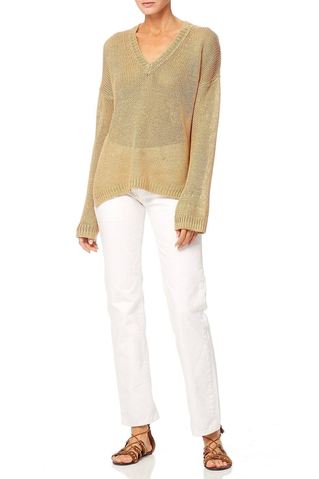 360 Cashmere Noelle Sweater - Side Cropped Image