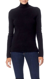 360 Cashmere Open-Back Turtleneck Sweater - Front cropped