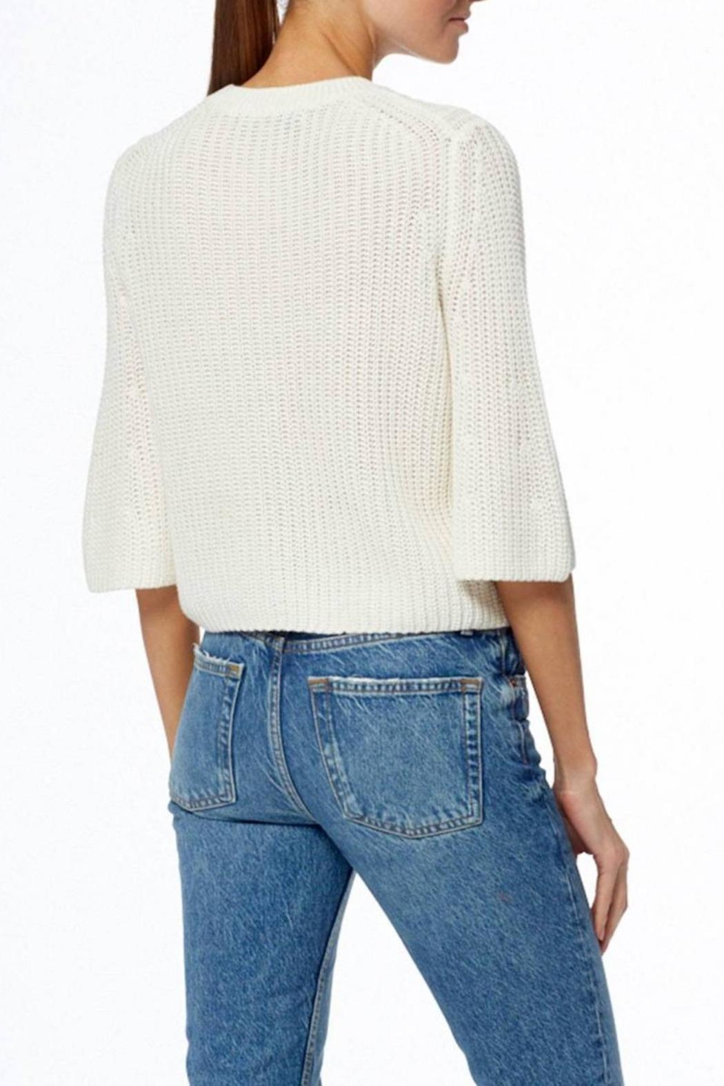 360 Cashmere Pearl Sweater - Side Cropped Image