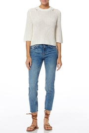 360 Cashmere Pearl Sweater - Back cropped