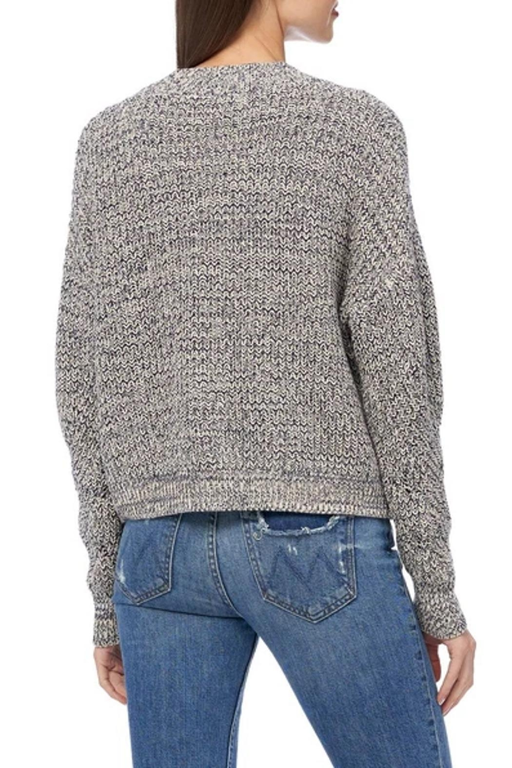 360 Cashmere Petunia Sweater - Side Cropped Image