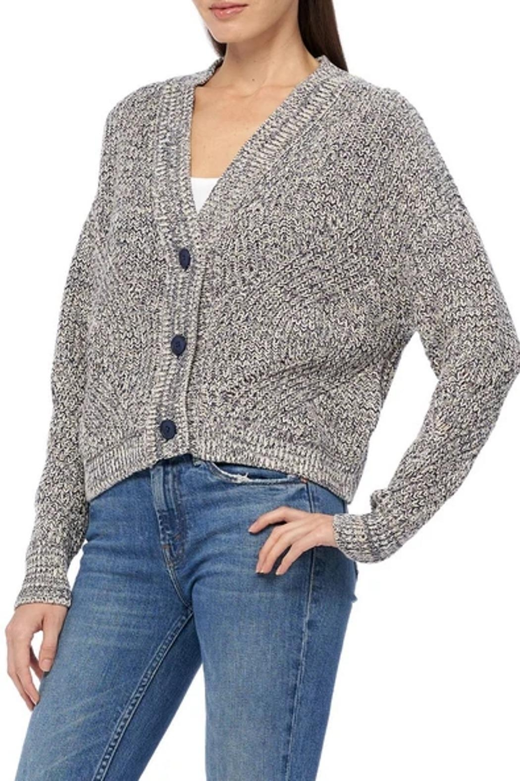 360 Cashmere Petunia Sweater - Front Full Image
