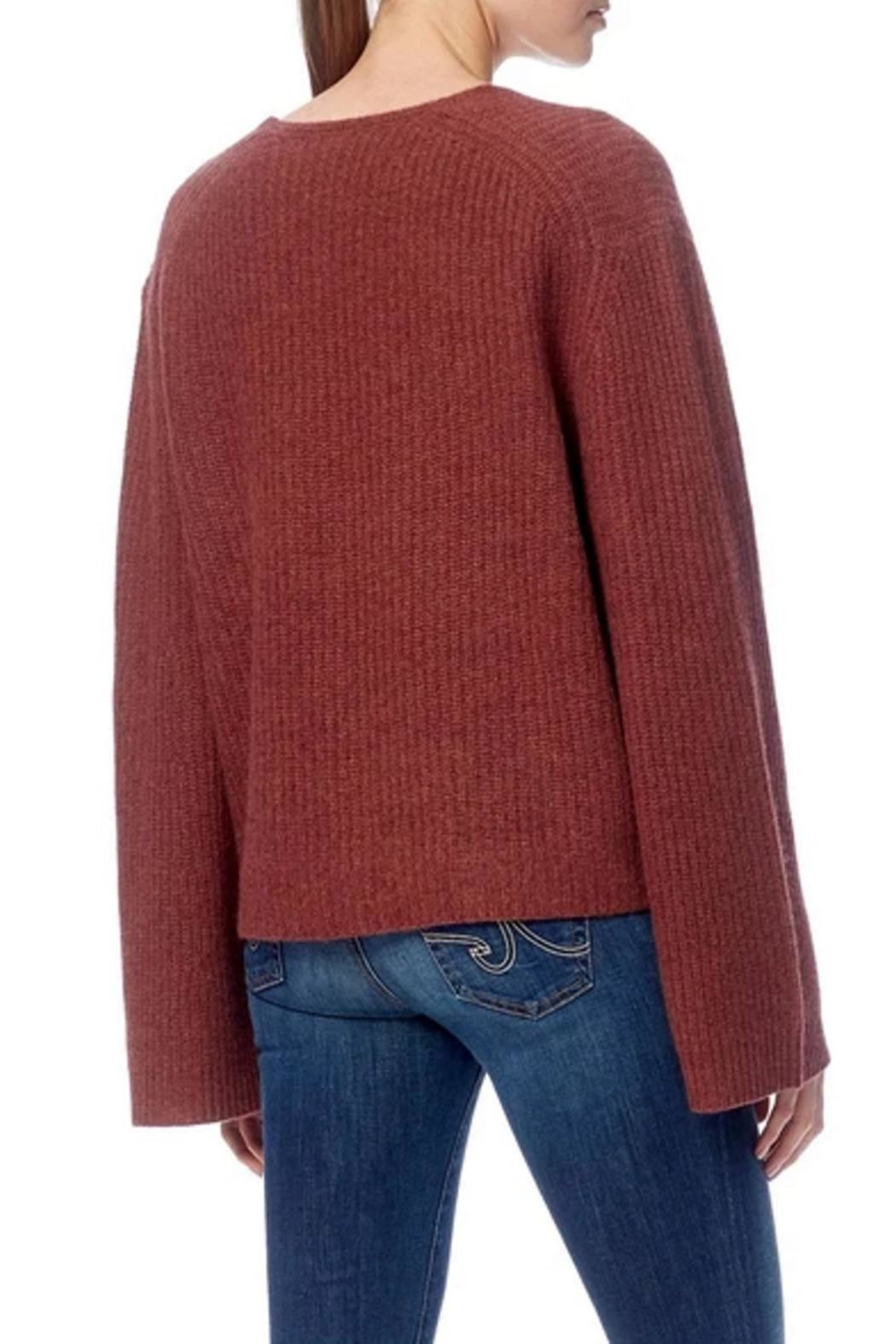 360 Cashmere Reese Sweater - Side Cropped Image