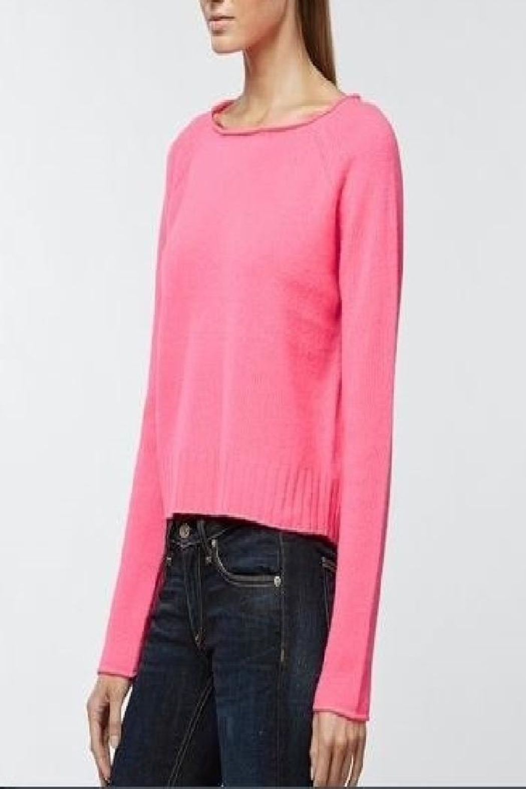 360 Cashmere Riffraff Cashmere Sweater - Front Cropped Image