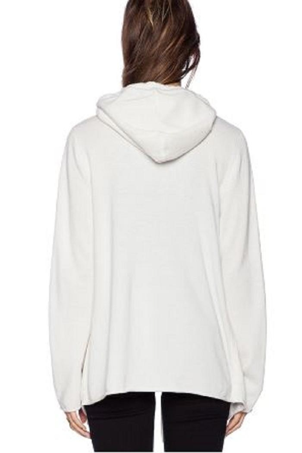 360 Cashmere Rihanna Drawstring Sweater - Front Full Image