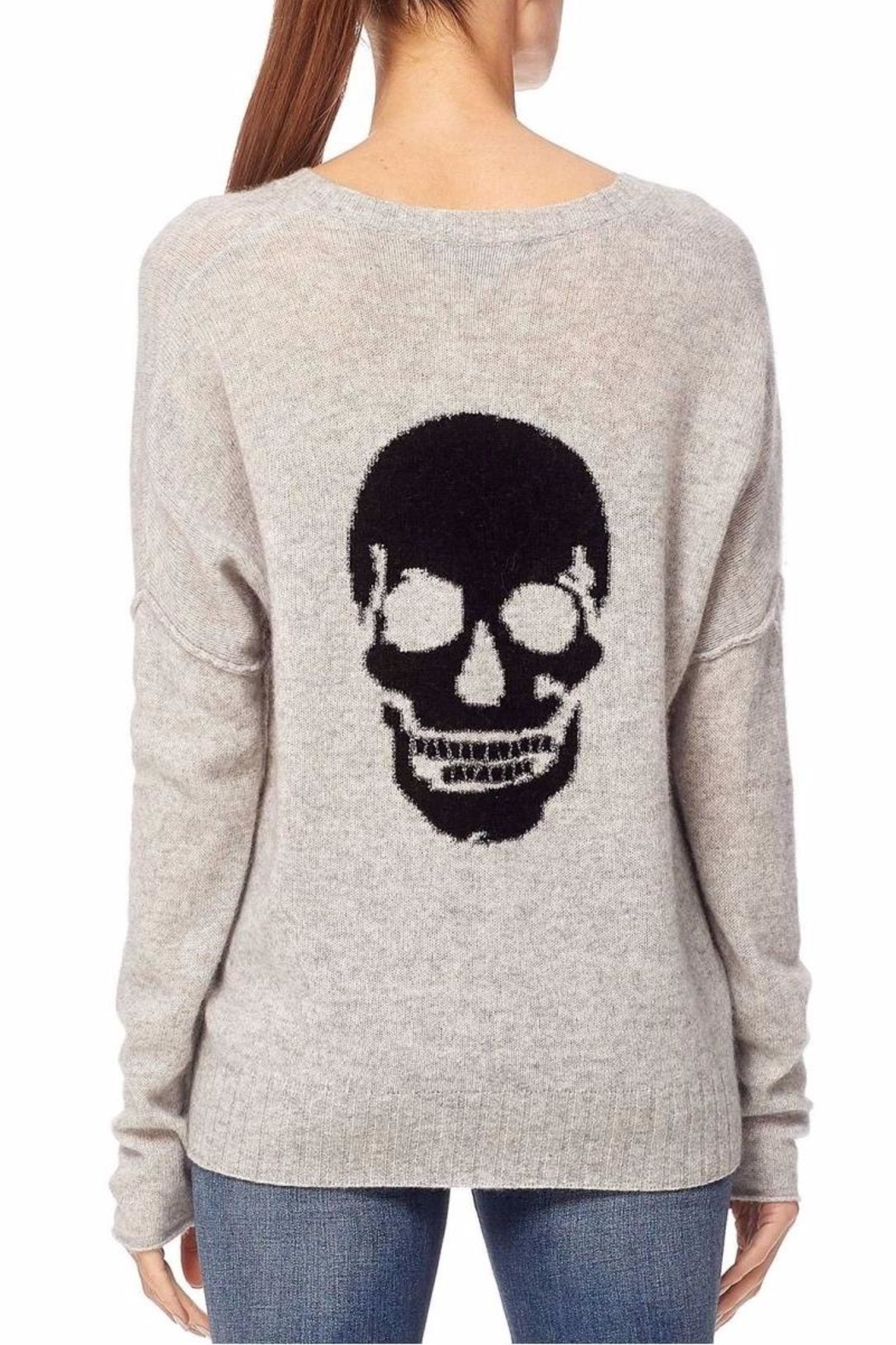 360 Cashmere Skull Rockett-Vee - Front Cropped Image