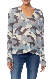 360 Cashmere Theo Camo Sweater - Product Mini Image