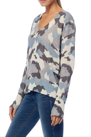 360 Cashmere Theo Camo Sweater - Front full body
