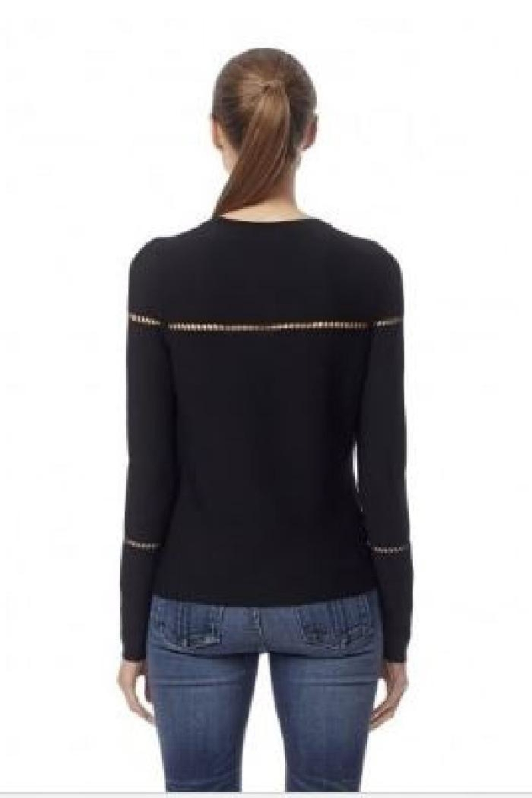 360Sweater Ananya Skull Sweater - Side Cropped Image