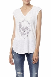 360Sweater Embroidered Skull Tee - Product Mini Image