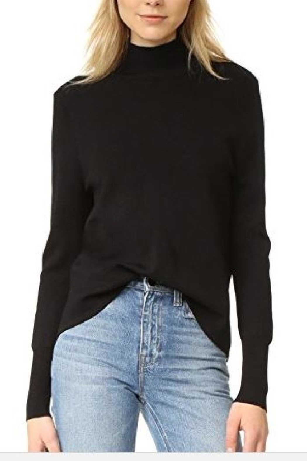 360Sweater Milana Overlap Sweater - Side Cropped Image