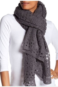 360Sweater Pilar Black Scarf - Alternate List Image