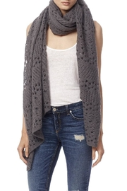 360Sweater Pilar Black Scarf - Front cropped