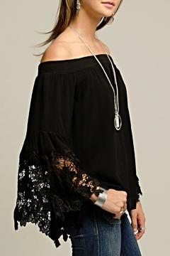 2 Chic Black Lace Sleeve - Product List Image