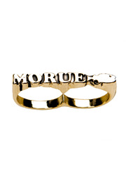 felicie aussi Morue Double-Finger Ring - Product Mini Image